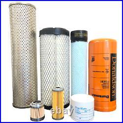 CFKIT Maintenance Filter Kit for/John Deere 26G Excavators (PIN1FF026GX-K26000)