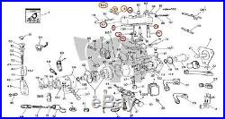 Cav Top Cover Kit Lucas DPA Diesel Injection Pump Gasket Leak Delphi Throttle