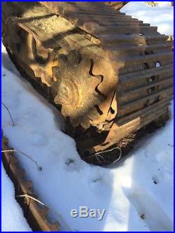Crawler Tracks 24 wide undercarriage Caterpillar Hitachi Volvo John Deere Komat