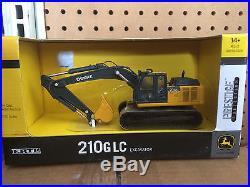 ERTL 150 JOHN DEERE 210G LC excavator with metal tracks PRESTIGE