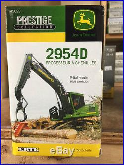 ERTL 150 JOHN DEERE 2954D Tracked Forestry Log Loader