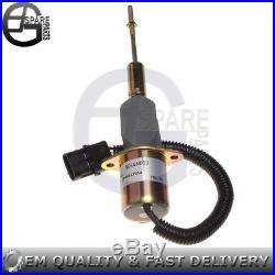 Electric Fuel Stop Shut Off Solenoid RE53560 24V for John Deere 892ELC Excavator