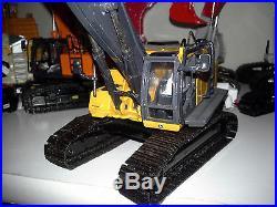 Ertl John Deere 450D demo excavator demolition shear processor custom