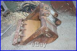 Excavator Hoe Bucket 35 Wide John Deere Case