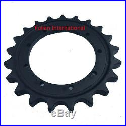 Excavator Sprocket Fit For John Deree JD25D 21T, 9H, ID is 210MM, Teeth Thick 28MM