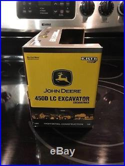 Excavator john deere 450D lc 1/50 ertl