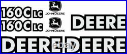 Fits John Deere 160CLC Excavator Decal Set Fits JD Decals