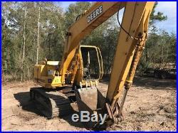 Genuine 2001 John Deere 120c Excavator