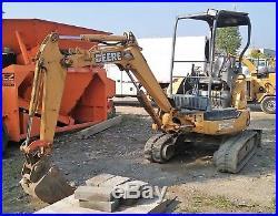 Genuine John Deere 27c Zts Mini Excavator