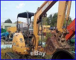 Genuine John Deere 35c Zts Mini Excavator
