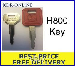 H800 Hitachi Key John Deere Key Excavator Key Case Fiat Skid Key