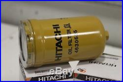HITACHI 4630525 6x Oil Filter same as BT9440 for Hitachi, John Deere Excavator