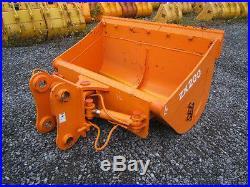 Hitachi John Deere Farm Excavator Hydraulic Tilt Ditching Bucket