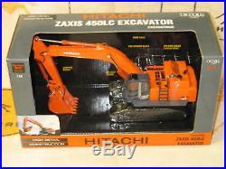 Hitachi John Deere Zaxis 450lc Excavator Ertl High Detail Construction Nib 1/50