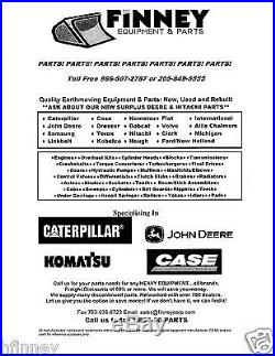 JD John Deere 120 160LC 200LC 230LC Excavator Cab Rear RH Glass AT214167