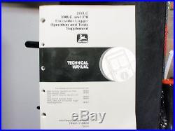 JOHN DEERE 200LC 330LC 370 EXCAVATOR OPERATION &TEST SUPPLEMENT TECHNICAL MANUAL