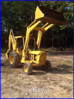 JOHN DEERE 300 DIESEL BACKHOE LOADER dozer, excavator NICE TRACTOR