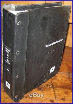 JOHN DEERE 30 50 EXCAVATORS TECHNICAL MANUAL withBINDER TM-1380