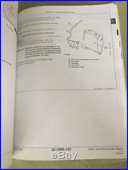 JOHN DEERE 330LC 370 EXCAVATOR REPAIR SERVICE TECHNICAL MANUAL TM1670 Book Shop