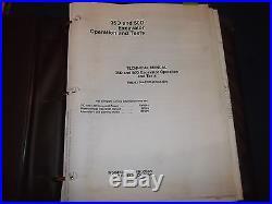 John Deere 35d 50d Excavator Technical Service Shop Op Test Manual Book Tm2263