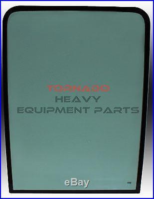 JOHN DEERE 4602562 EXCAVATOR FRONT UPPER WINDOW CAB GLASS
