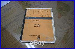 JOHN DEERE 790D EXCAVATOR PARTS MANUAL