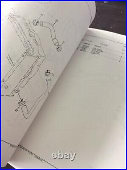 JOHN DEERE 80 EXCAVATOR PARTS CATALOG MANUAL PC2710 Book Guide Shop Service