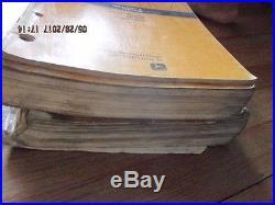 JOHN DEERE 890 Excavator Parts Catalog Operators & Technical Manual Set of 3