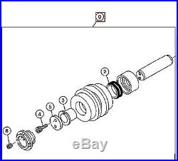 JOHN DEERE AP34340 TRACK ROLLER, UPPER 80, 80C EXCAVATOR NEW OEM OBSOLETE