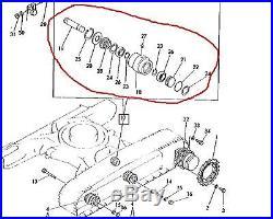 JOHN DEERE AT110635 ROLLER, TOP FITS JD50 or YANMAR YB501 MINI EXCAVATOR OEM