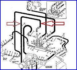 John Deere At115278 Hydraulic Hose, 690d, 693d Excavator, Feller Buncher New Oem