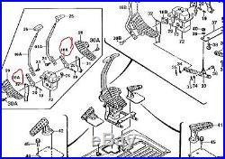 John Deere At202294 Bracket, Excavator Control Lever