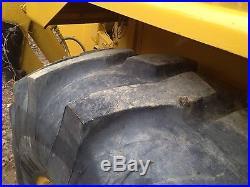 JOHN DEERE DIESEL BACKHOE LOADER, tractor excavator dozer nice machine
