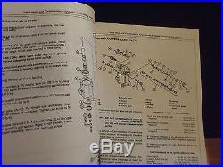 JOHN DEERE JD TM-1385 15 & 25 Excavator Tech Manual, 1986