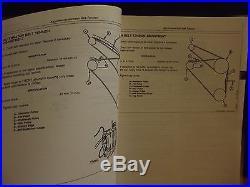 JOHN DEERE JD Technical Manual TM-1541, 892E LC Excavator Operation & Test, 1996