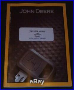 John Deere 120c Excavator Technical Service Repair Manual Tm1935