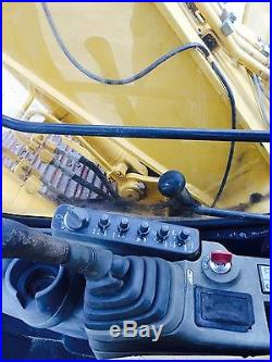 John Deere 120c With Dozer Blade