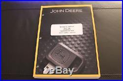 John Deere 135c Excavator Service Operation & Test Manual Tm2093