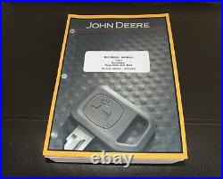 John Deere 135d Excavator Service Operation & Test Manual Tm10742