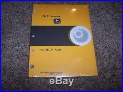 John Deere 160LC 160 LC Excavator Parts Catalog Manual Book PC2643
