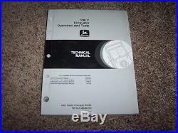 John Deere 160LC Excavator Operation & Test Shop Repair Technical Manual TM1661