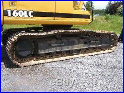 John Deere 160LC Farm Tractor Excavator