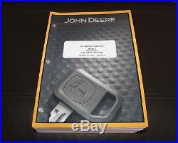 John Deere 160dlc Excavator Service Operation & Test Manual Tm10088