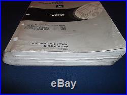 John Deere 160lc Excavator Technical Service Shop Op Test Manual Book Tm1661