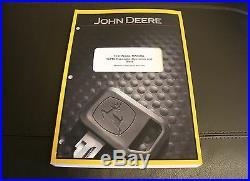 John Deere 17 Zts Excavator Service Operation & Test Manual Tm1896