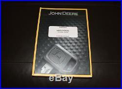 John Deere 17d Compact Excavator Parts Catalog Manual Pc10019