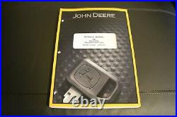 John Deere 17d Excavator Service Operation & Test Manual Tm10258