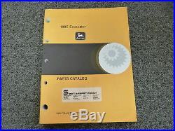 John Deere 190E Midi Excavator Parts Catalog Manual Book PC2375
