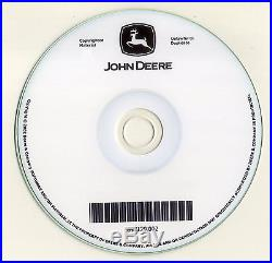 John Deere 200D 200 D Excavator Technical Shop Service Repair Manual CD TM10079