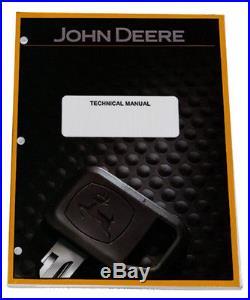 John Deere 200LC Excavator Operation & Test Service Repair Tech Manual TM1663